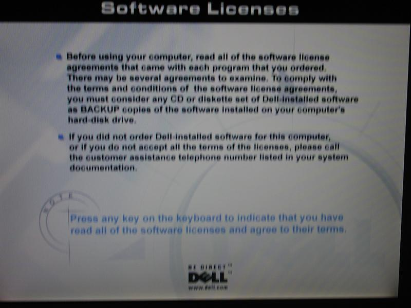 Dells Software License Policy Dude Youre Getting Screwed